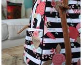 Vivian bag - HANDBAG - floral fabric - spring bag - summer bag - custom order