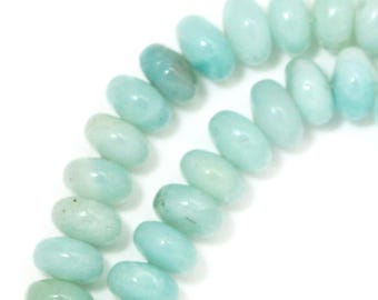 Amazonite (Darker) - 6mm Rondelle