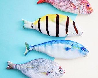 Cute Fish Pencil Case -Pencil Pouch Receive Pouch