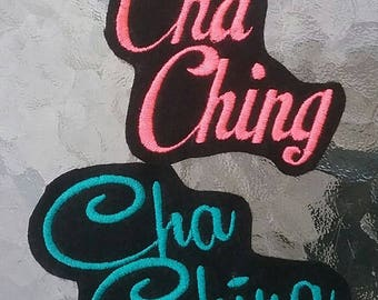 Cha Ching Patch