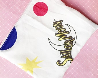 Sailor Moon pretty soldier cute pencil case or cosmetic bag by Felices Happy Designs