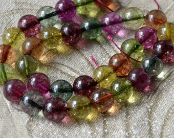 Multicolor round Crystal stone nugget stone Beads,crystal stone beads loose strands, Gemstone Bead loose strands