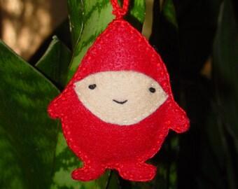Fat Little Elf Puffy Ornament
