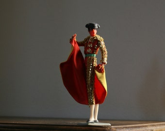 Vintage Matador, Costume Doll, Spain, Bull Fighter