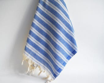 NEW / SALE 70 OFF/ Turkish Beach Towel Peshtemal / Wedding Gift, Spa, Swim, Pool Towels and Pareo