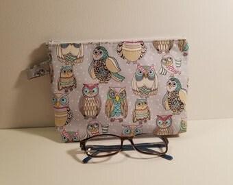Owl Grab 'N Go / Cosmetic bag