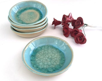 Ring holder dish - Mediterranean Sea dreams collection - Ring holder - Light blue Ceramics