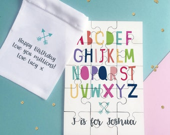 Alphabet Name Jigsaw Puzzle