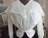 Antique Edwardian Shirt Waist