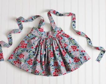 Alfresco Floral Suspender Skirt
