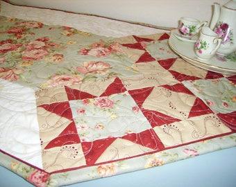 Table Runner Quiltsy Handmade