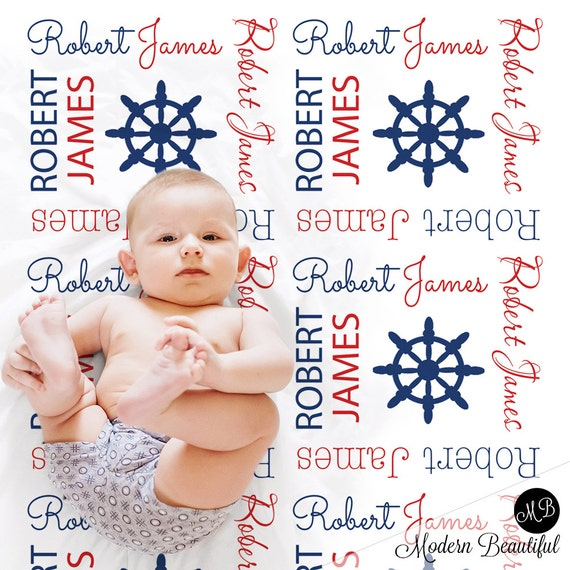 Sailboat baby name blanket personalized baby gift nautical sailboat baby name blanket personalized baby gift nautical blanket boy baby blanket personalized blanket receiving blanket negle Images