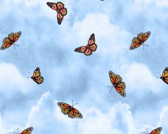 Prairie Gate - Butterflies Light Blue