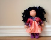 """Penny, a 10"""" Waldorf inspired Doll"""