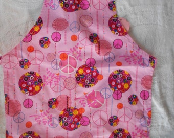 Flower Power Child Apron- Ready to Ship