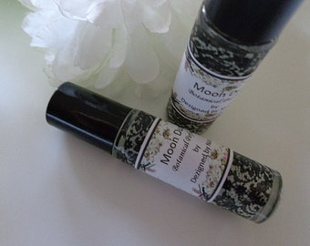 Moon Dust Natural Perfume, Roll on Perfume, Absolutes, Gifts, Stocking Stuffers
