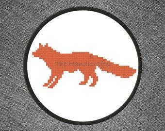 Fox Cross Stitch Pattern