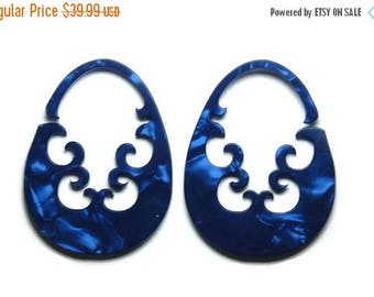 ON SALE Sapphire Antara Drops- 2 earrings for the price of one