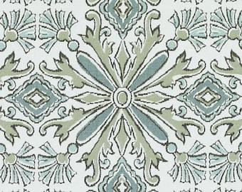 Designer Pillow Cover - Lumbar, 16 x 16, 18 x 18, 20 x 20, 22 x 22, Euro JR NMK Blue / Green