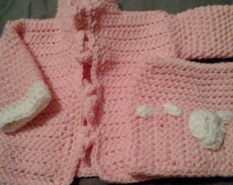 Baby Girl Sweater Set