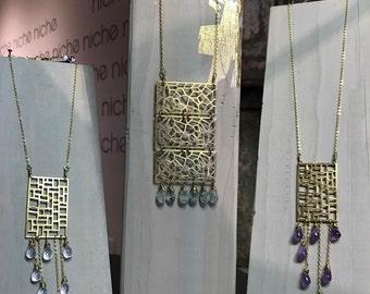 Three Tier Chandelier Necklace