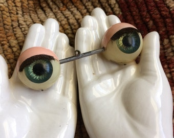 I Always Feel Like There Is Somebody Watching Me Vintage Doll Eyes