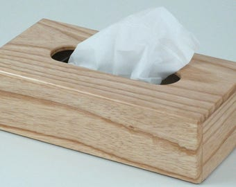 Ash tissue box  Tissue box holder