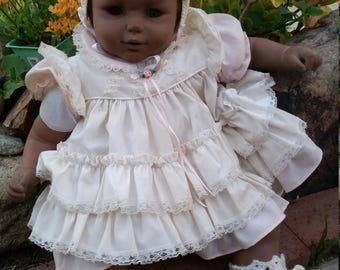 "vintage, Fishel 23"" baby doll, African American"