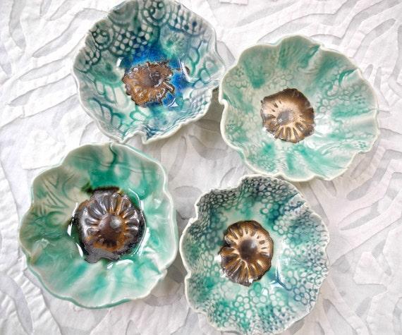 Prep bowls, nut bowls, olive bowls, sauce bowls, dipping bowl set, small bowls, ring bowl, ceramic bowls, pottery bowls, decorative bowls