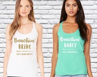 Bachelorette Party Shirts, beach bachelorette, beach bride, miami bachelorette party