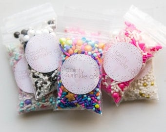 Party Favour Sprinkle Packs