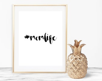 Mom Life Wall Art
