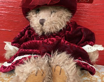 Russ victorian Alexandra bear with tags