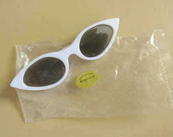 Official American Girl Doll Sunglasses White Frames 18 Inch Doll 818b