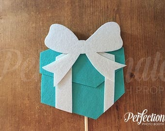 Tiffany Box Photo Booth Prop | Breakfast at Tiffany's Props | Tiffany's Centerpiece