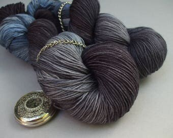 British Born and Bred 4 ply Sock Yarn. Jackdaw