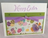Happy Easter, Blank, Handmade Card
