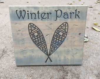 Winter Park Snowshoes (or any place or name)