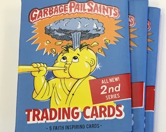 Pack of Garbage Pail Saints cards / Series Two