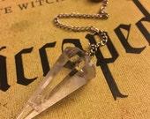 Quartz Pendulum Handmade NEW