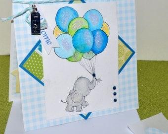 Baby Boy Card, New Baby Boy Card, Baby Boy Shower, Baby Shower Card