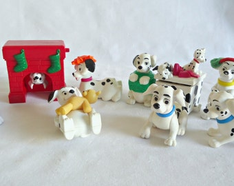 101 Dalmation McDonalds Toys 8 Happy Meal Give Away Lot C