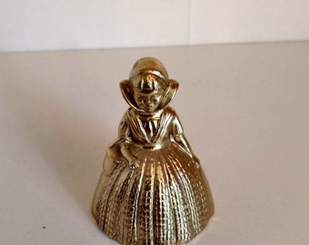 Small Brass Lady Bell