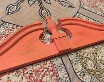 Architectural element salvaged furniture piece