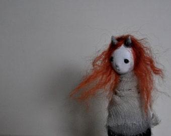 OOAK Art Doll  - Winter Borne Caera