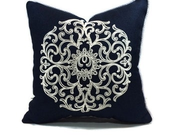 Custom Made Pillow Covers with trim or piping - Sewing Service - Seamstress Service - Customized Pillows Using Customers Own Fabric and Trim