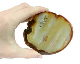 Cut & Polished Brazilian Agate Slab