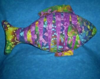Tropical Fish Pillow.