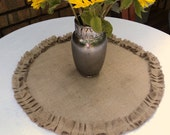 Burlap Table Squares and Round Reserved for Sharon