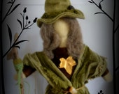 Hedgewitch. Needle felted doll